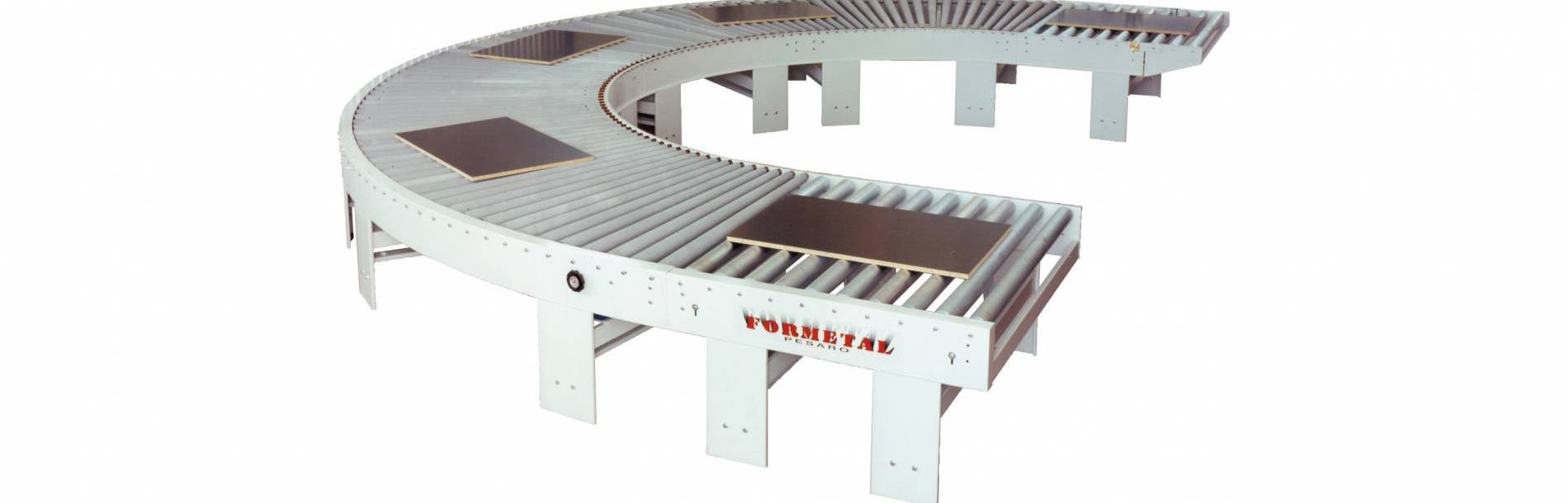 180 degrees Belt Conveyor